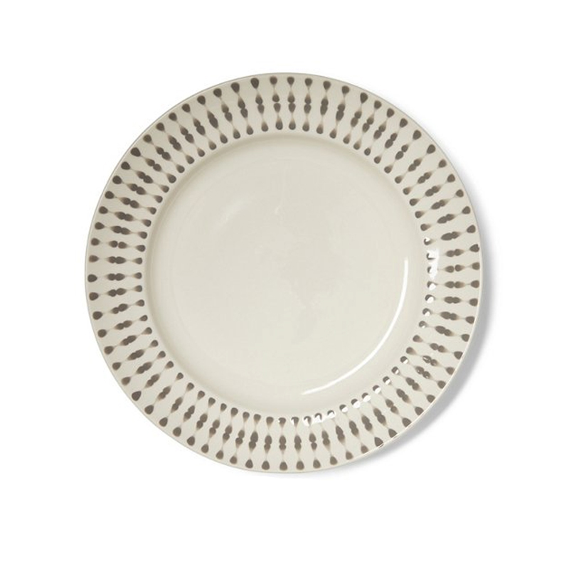 Grey Cua Dai Dinner Plate Set Of 4 Imagine Home